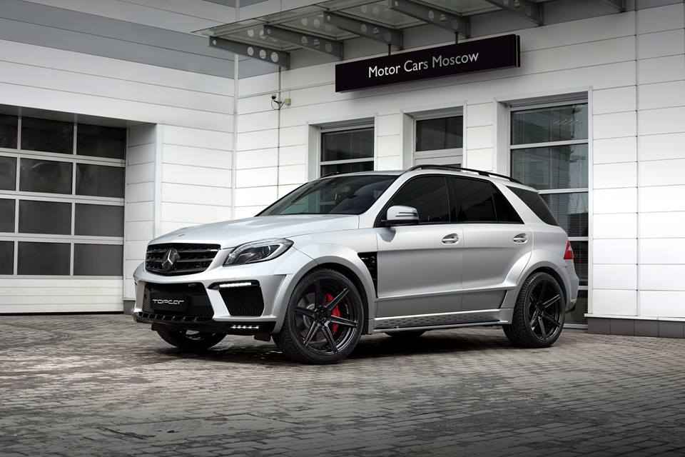 Topcar Boasts With Its Ml63 Amg Inferno Silver Arrow