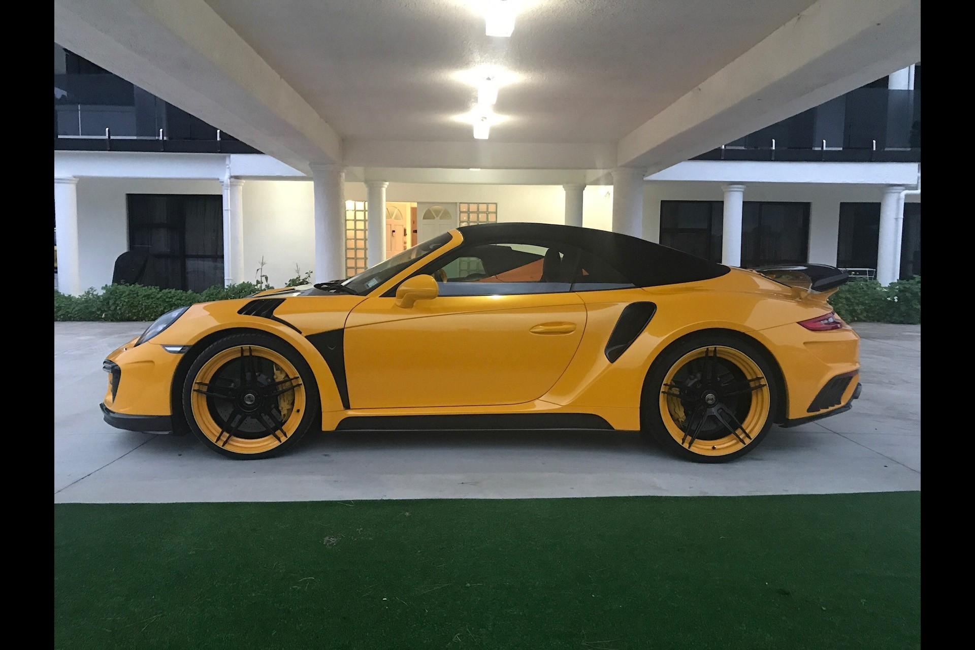 topcar carbon 2017 porsche 911 turbo s cabriolet is the. Black Bedroom Furniture Sets. Home Design Ideas