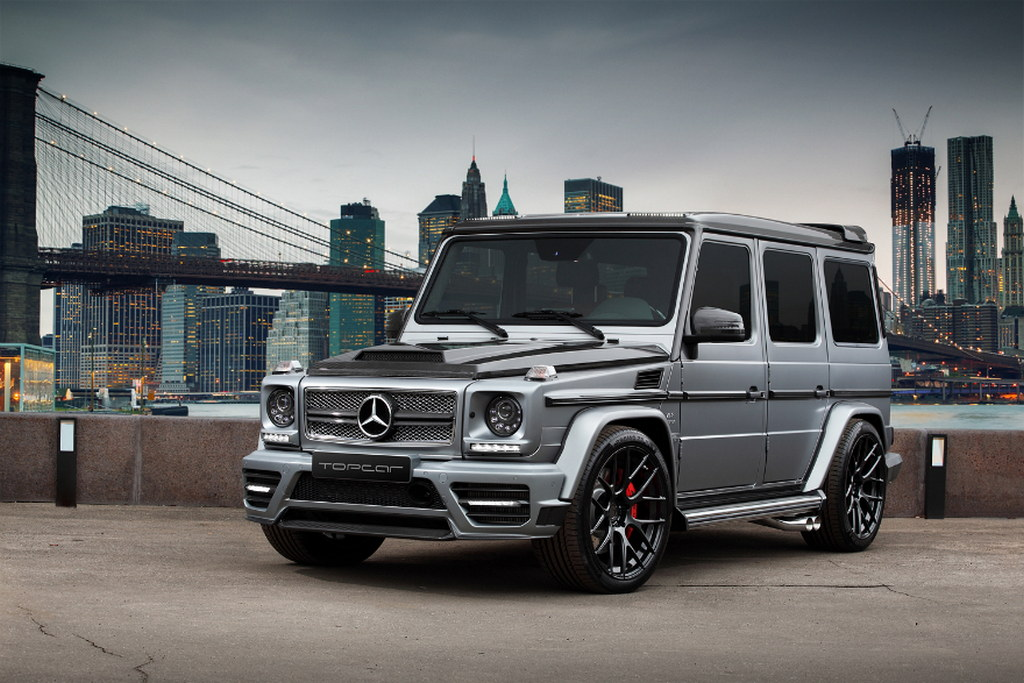 Topcar g 65 amg with mansory and brabus bits autoevolution for Mercedes benz g wagon v12