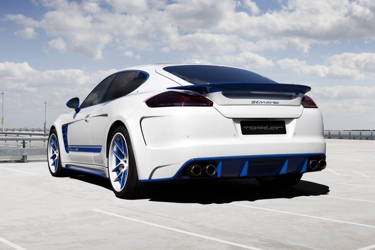 Topcar Porsche Panamera Carbon Body Kit Is Russian