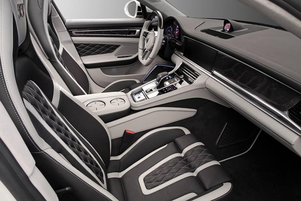 Topcar Porsche Panamera Stingray GTR Interior