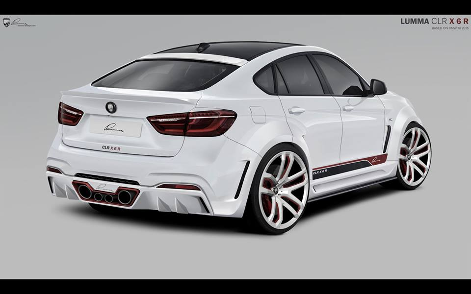 Topcar Presents The Bmw X6 Inspired Lumma Design Clr X6 R