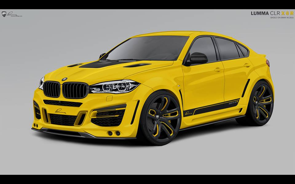 Topcar Presents The Bmw X6 Inspired Lumma Design Clr X6 R Body Kit
