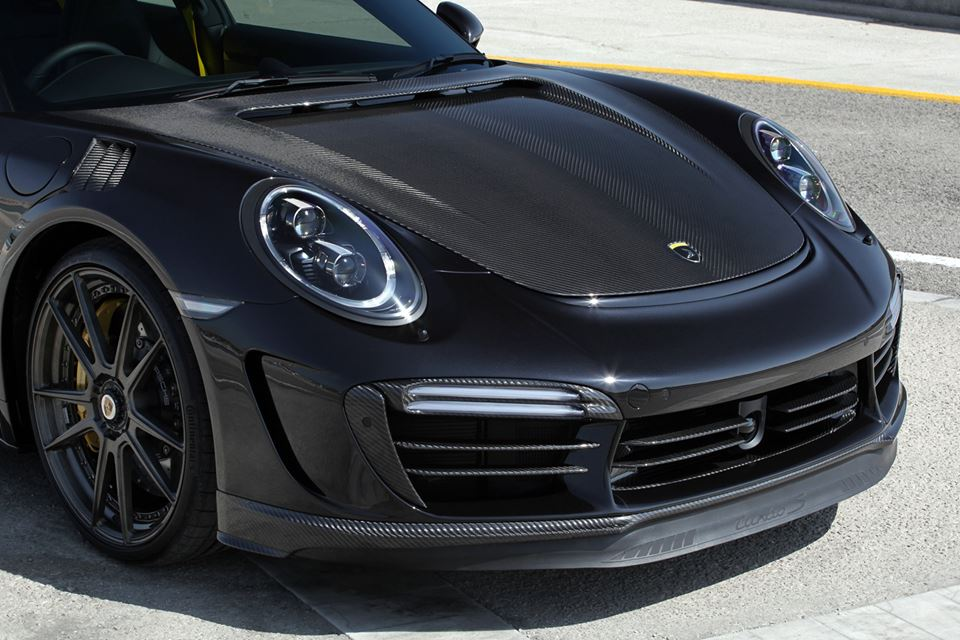 topcar 39 s 2017 porsche 911 turbo s stinger gtr is a widebody carbon weapon autoevolution. Black Bedroom Furniture Sets. Home Design Ideas
