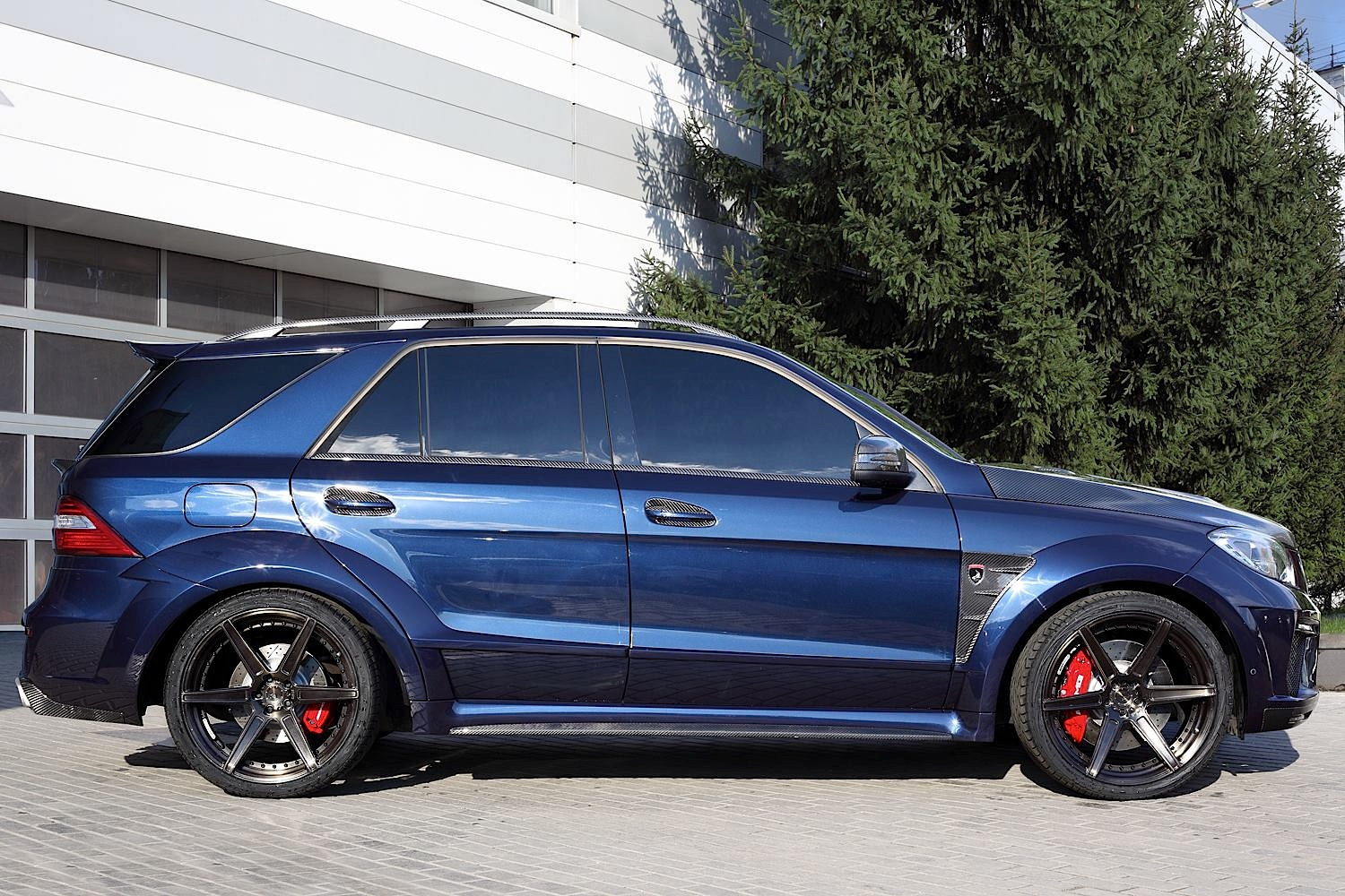 TopCar's ML 63 AMG Inferno in Dark Blue Looks Eerie ...
