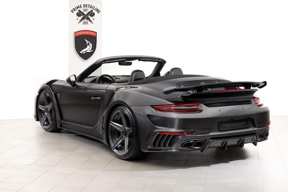 Topcar Stinger Gtr Carbon Edition Based On Porsche 911