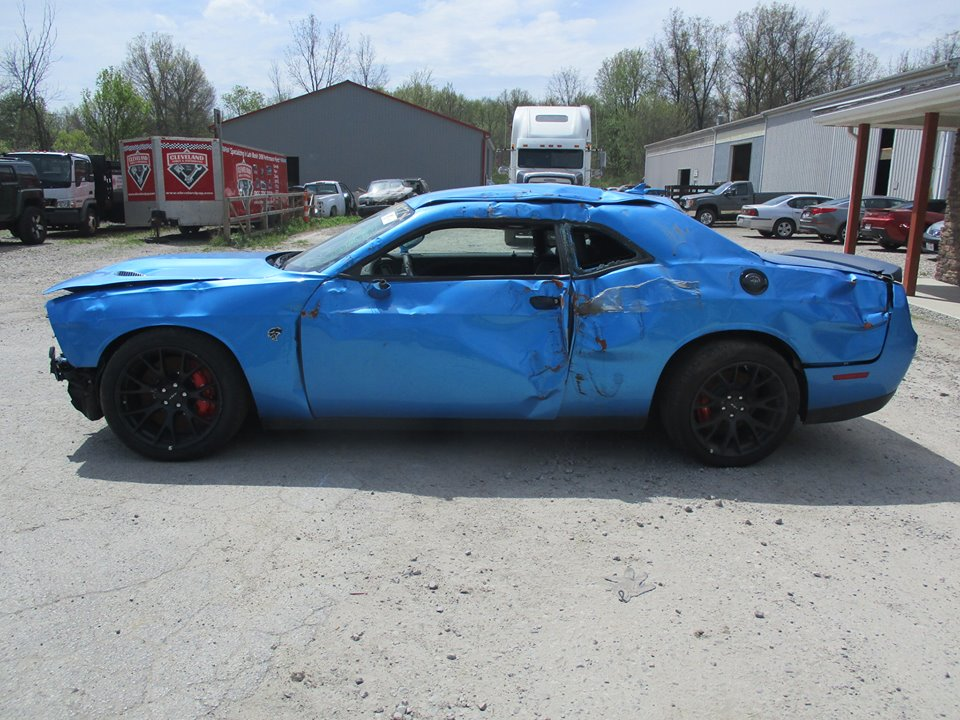 UPDATE: Totaled Dodge Challenger cat For Sale with 18 Miles ...