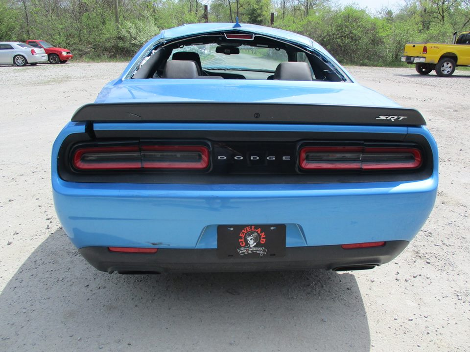 update totaled dodge challenger hellcat for sale with 18 miles. Cars Review. Best American Auto & Cars Review