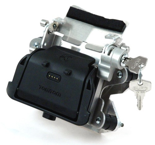 Touratech Shows New Tomtom Rider Lockable Bracket Autoevolution