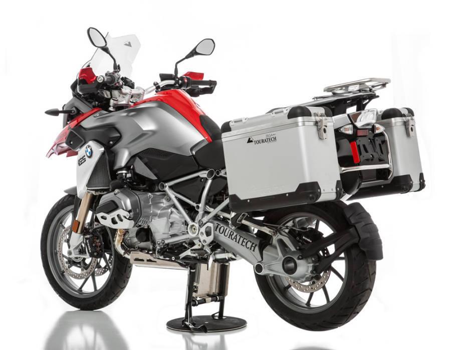 Touratech Shows Zega Pro Aluminium Panniers For 2013 Bmw R1200gs Autoevolution