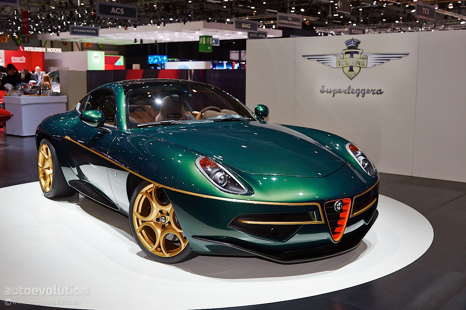 Touring S Disco Volante Looks Minty Fresh In Green And Gold Live Photos
