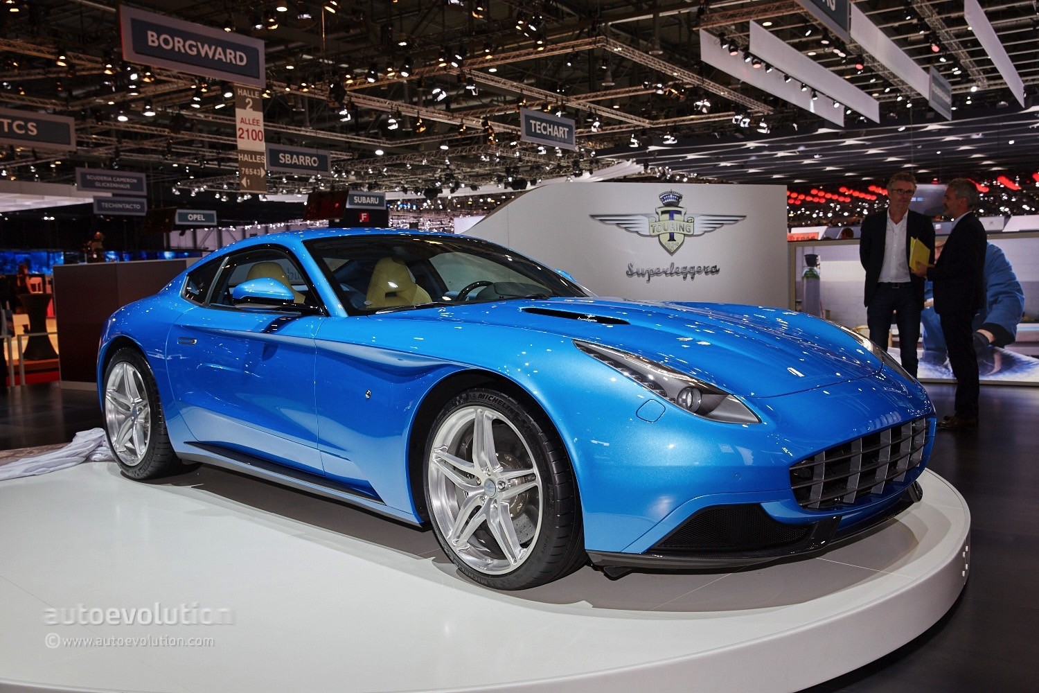 touring superleggera berlinetta lusso is a ferrari f12 with too much class autoevolution. Black Bedroom Furniture Sets. Home Design Ideas
