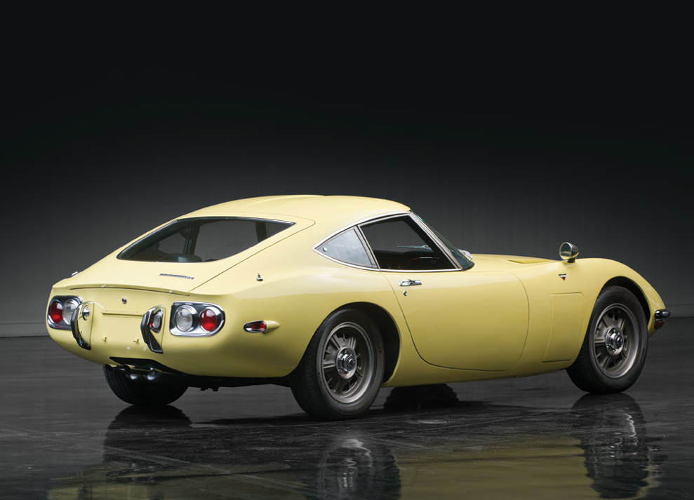 toyota 2000gt most expensive asian car sold at auction autoevolution. Black Bedroom Furniture Sets. Home Design Ideas
