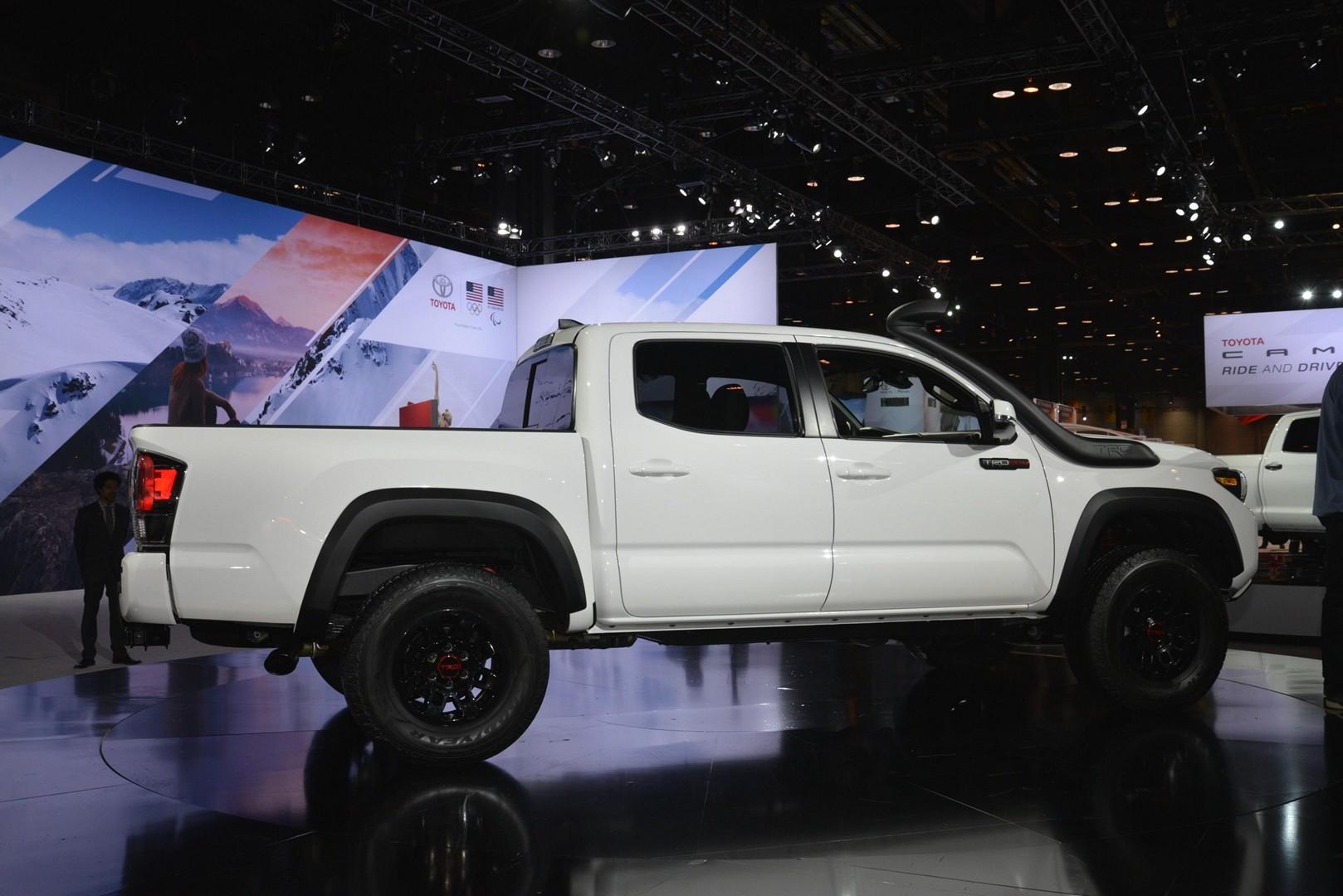 Toyota 2019 TRD Pro Tundra, Tacoma and 4Runner Flaunt