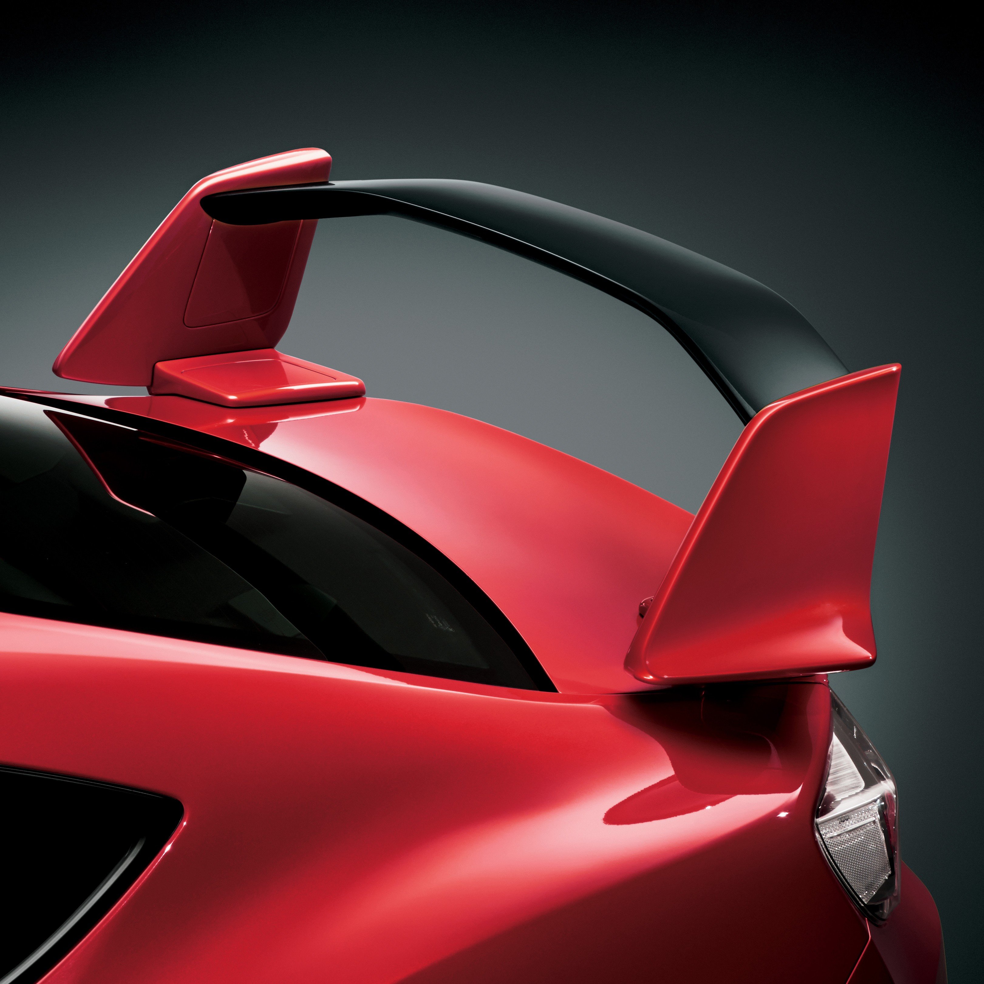 toyota 86 aero gt wing package japan launched autoevolution spoilers pimped coupe box brz under hood