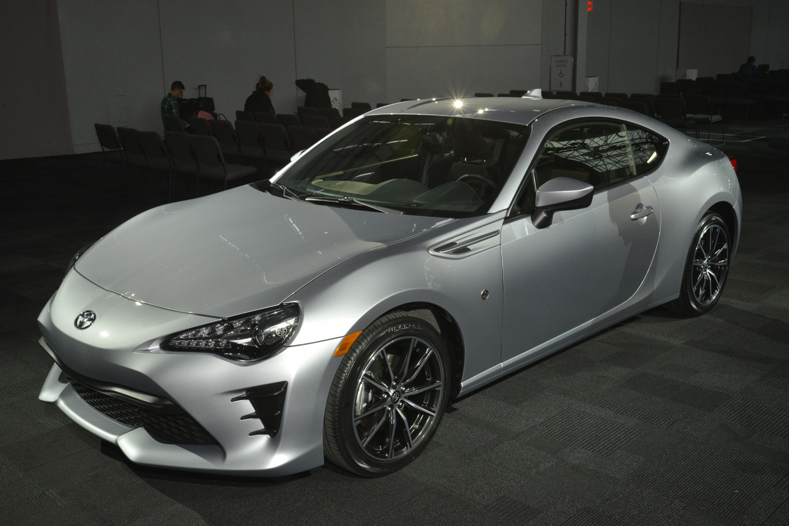 2017 Toyota 86 Puts an Angry Face On at the New York Auto ...
