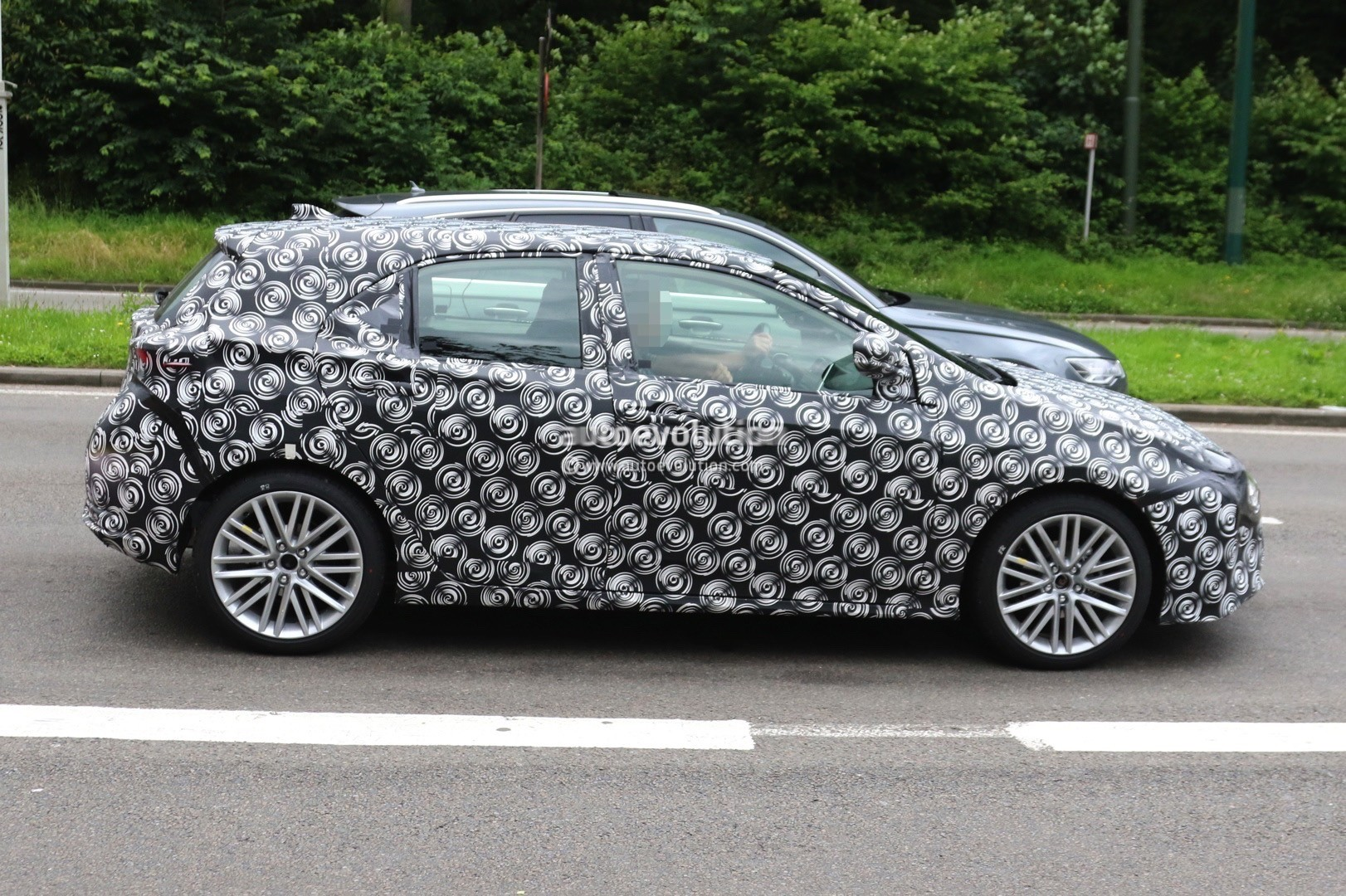2019 Toyota Corolla Hatchback Spied With Production Body Shell ...