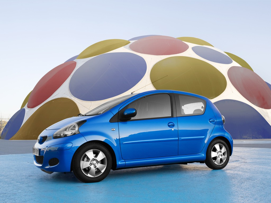 toyota aygo peeing like a dog in new commercial autoevolution. Black Bedroom Furniture Sets. Home Design Ideas