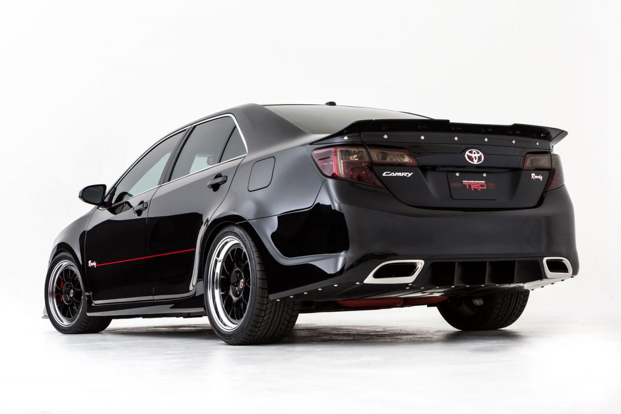 Build A Toyota >> Toyota Camry Gets NASCAR Tuning for 2012 SEMA - autoevolution