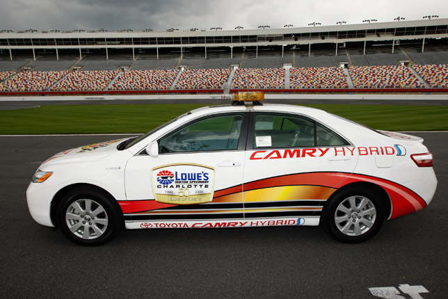 Toyota Camry Hybrid Official Pace Car For Sprint Cup