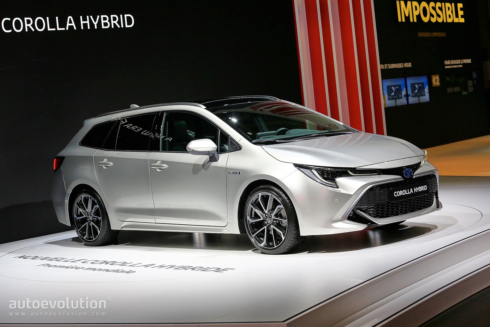 Toyota Corolla Hybrid Wagon Has Giant Trunk And Even