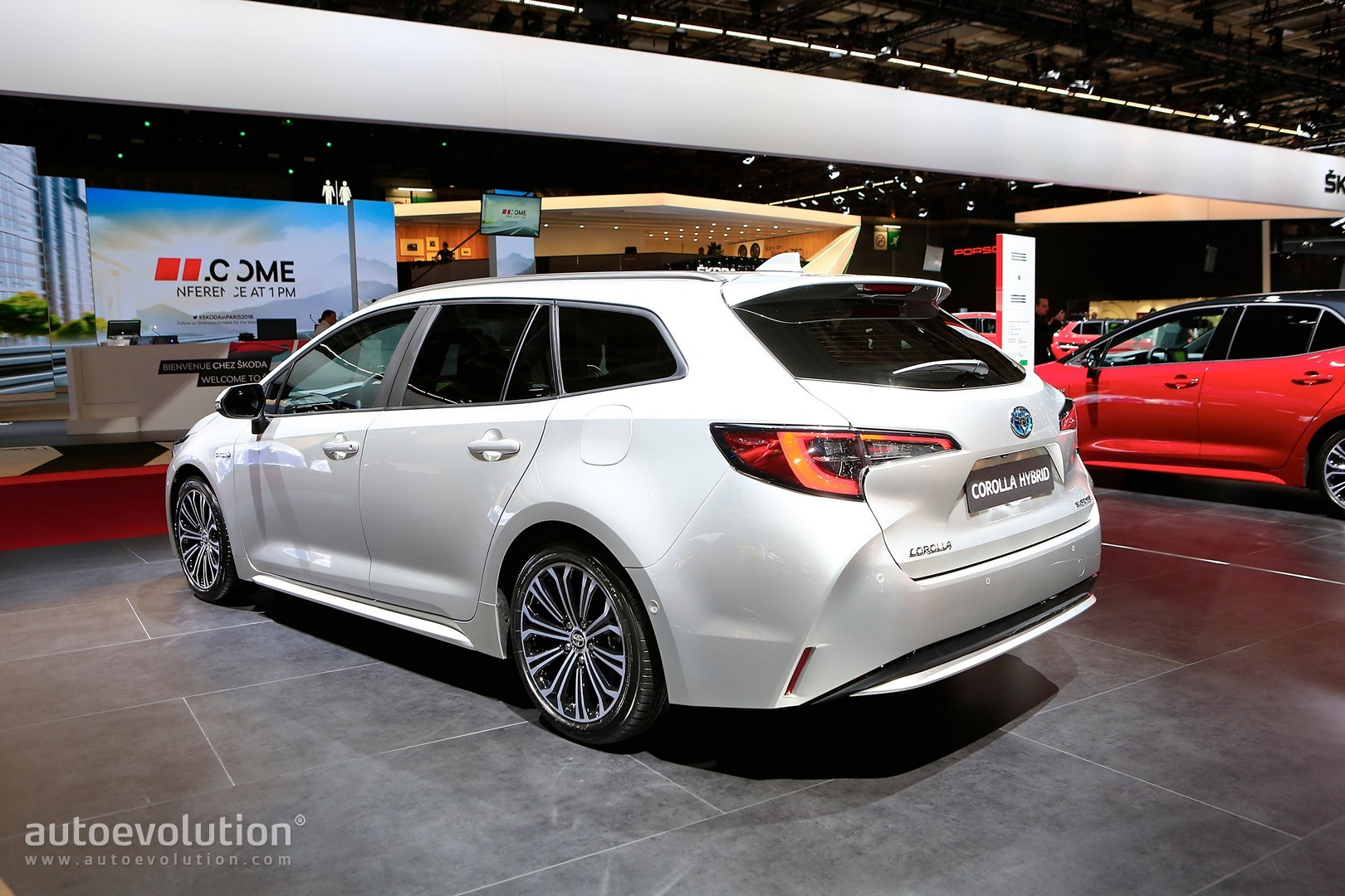 What Does Trd Stand For >> Toyota Corolla Hybrid Wagon Has Giant Trunk and Even Bigger Tablet in Paris - autoevolution