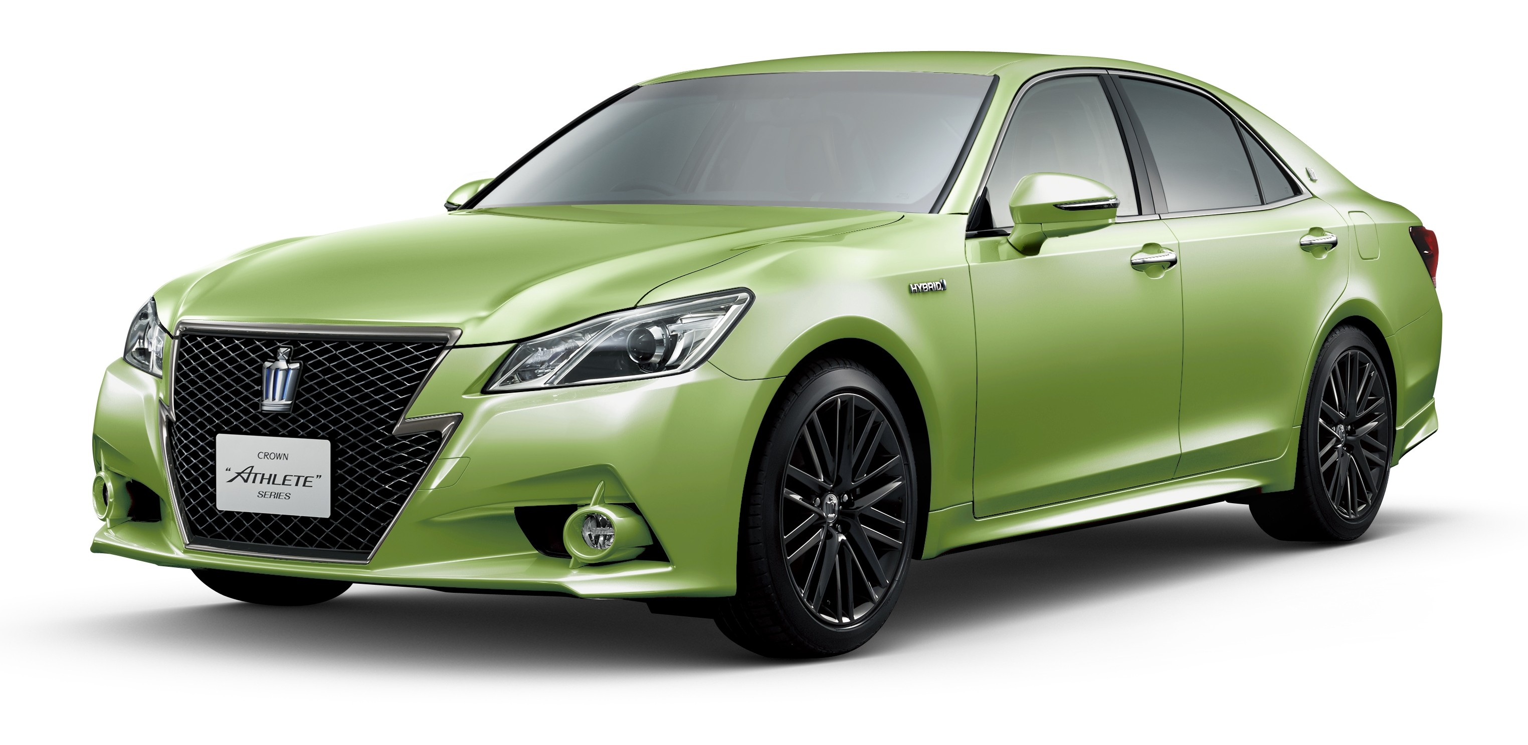 Toyota Crown 60th Anniversary Sky Blue Bright Green