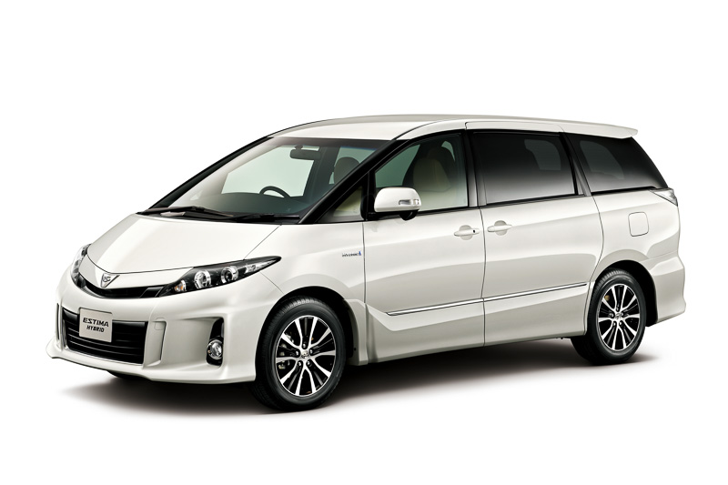 Toyota Estima Gets Very Edition In Japan Autoevolution