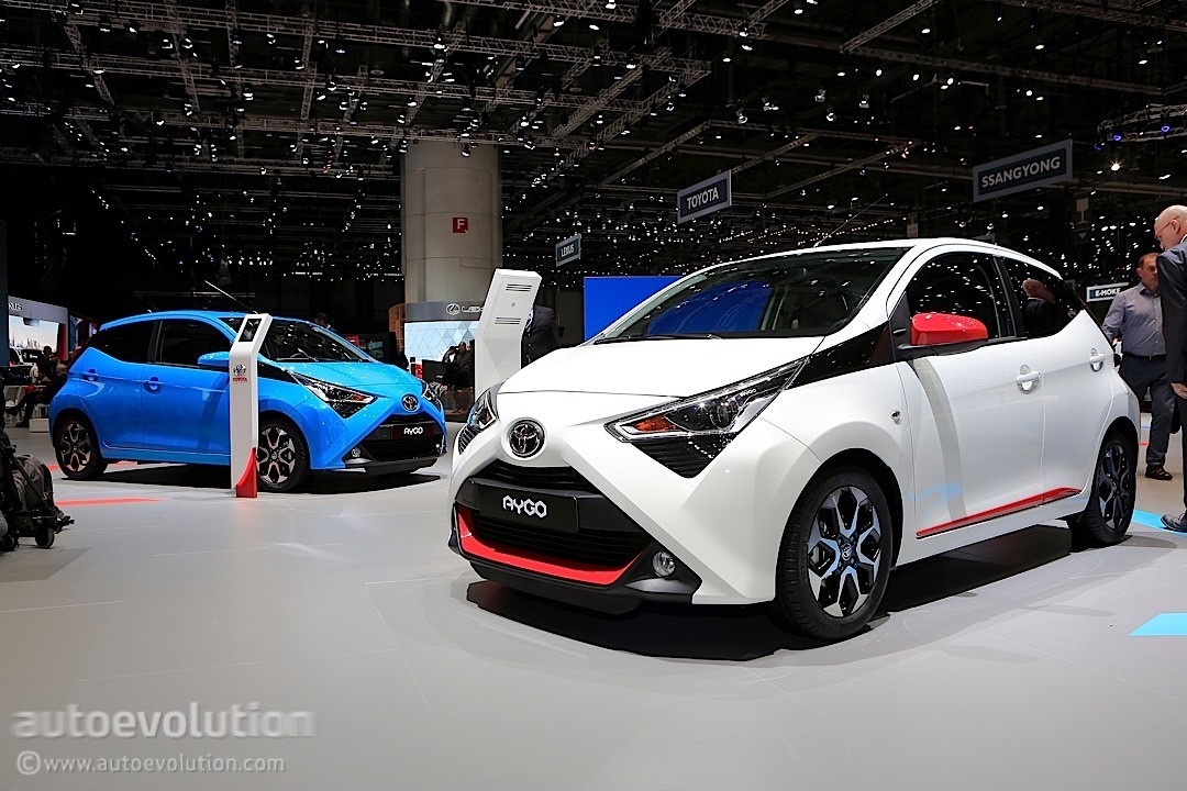 toyota, europe\u0027s lowest co2 emissions carmaker in 2017 autoevolutiontoyota aygo facelift toyota aygo facelift toyota aygo facelift