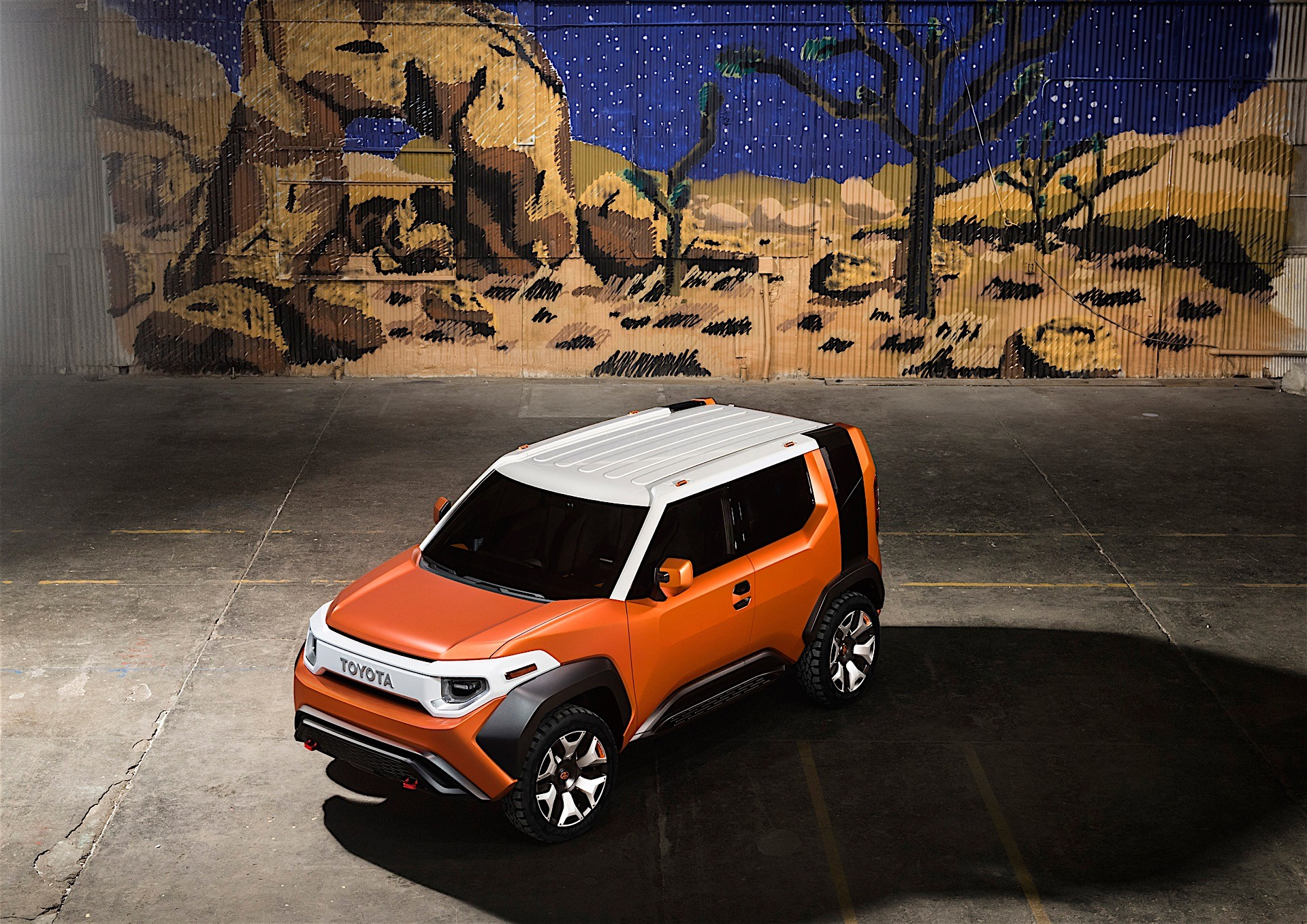 toyota angeles hr photo in front gallery scion los image news crossover features side debuts concept c
