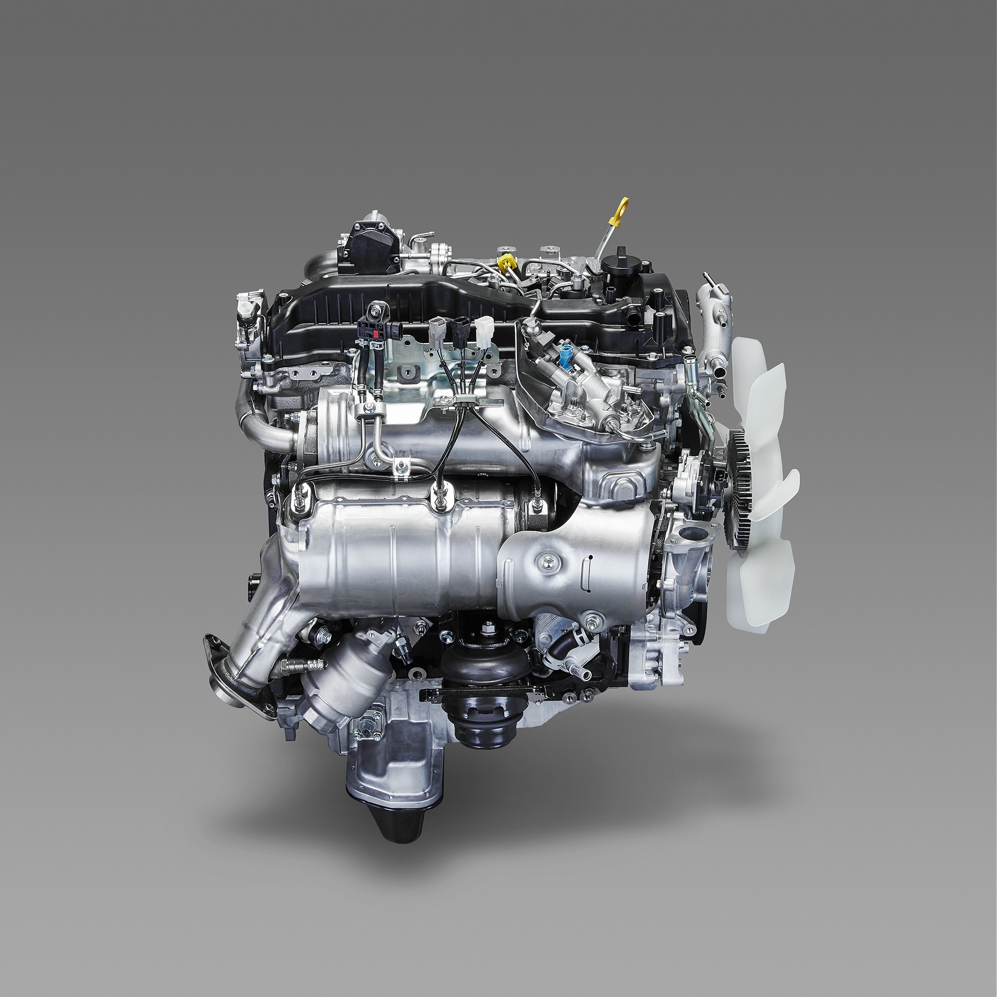 Toyota GD Turbo Diesel Family Boasts 44 Percent Maximum