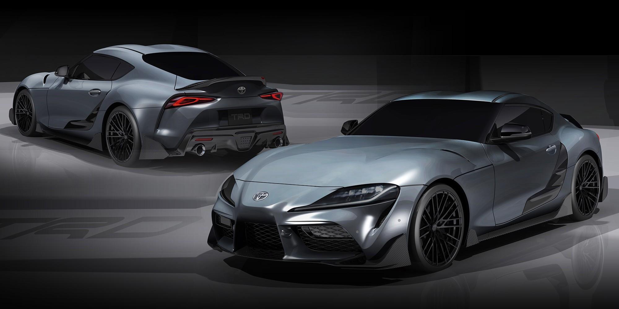 Toyota Gr Supra Performance Line Concept Trd Looks