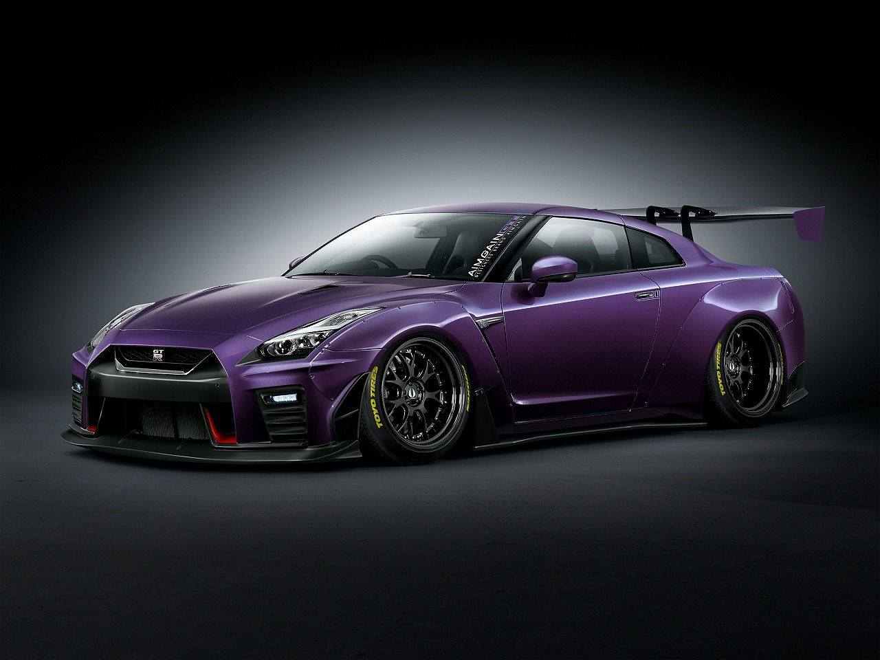nissan gt r drift car with exposed rear mounted turbos rendered should happen autoevolution. Black Bedroom Furniture Sets. Home Design Ideas