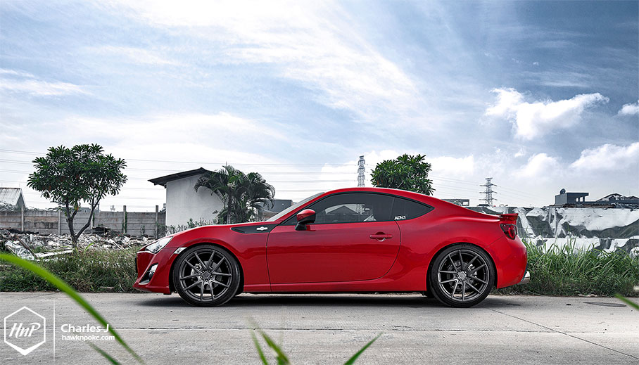 Toyota Gt 86 Gets Adv 1 Wheels And Engine Tuning