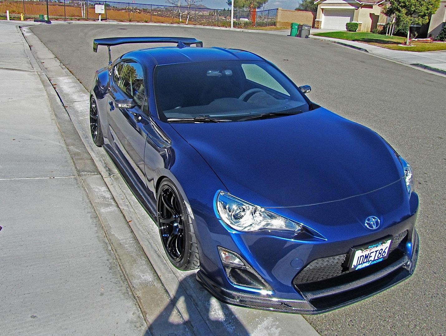 Widebody Toyota GT 86 by 326power Has Crazy Wheels and Low ... |Custom Toyota Gt86