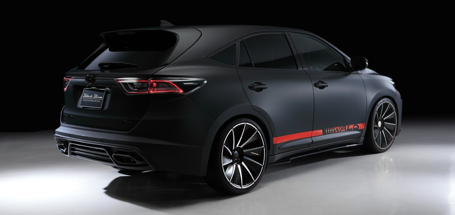 Toyota Harrier by Wald International Has the Black Bison Looks