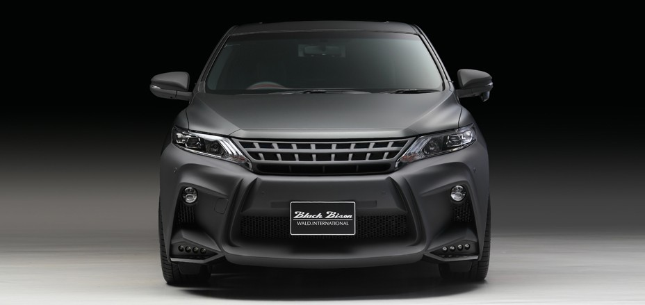 Toyota Harrier by Wald International Has the Black Bison Looks - autoevolution