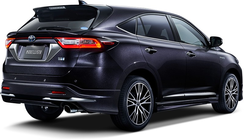 Toyota Harrier 2018 Turbo >> Toyota Harrier Gets 2.0L Turbo, Modellista Kit and Wild Creature Commercial - autoevolution