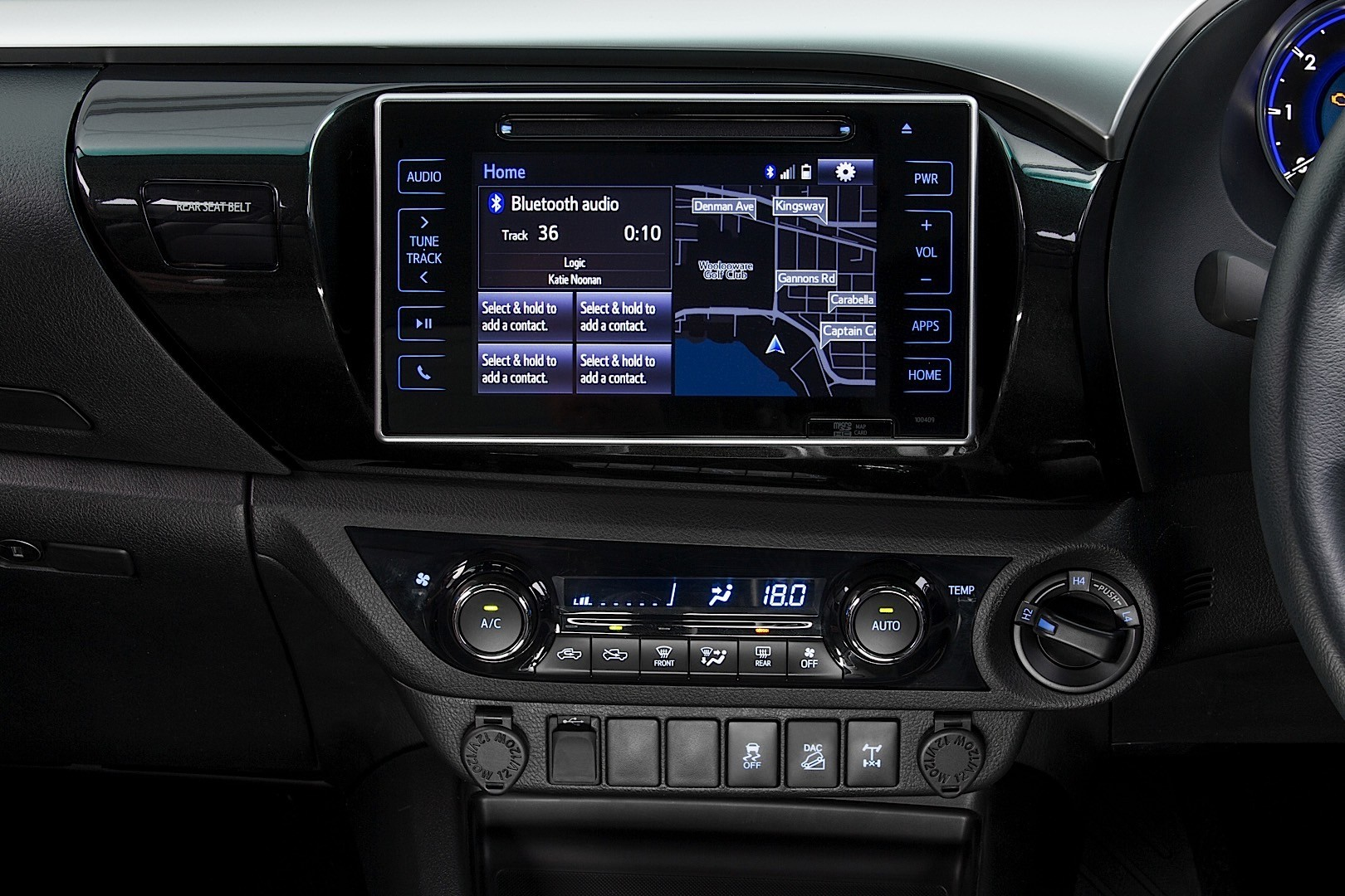 Toyota Hilux Reveals Its New Interior But Only For