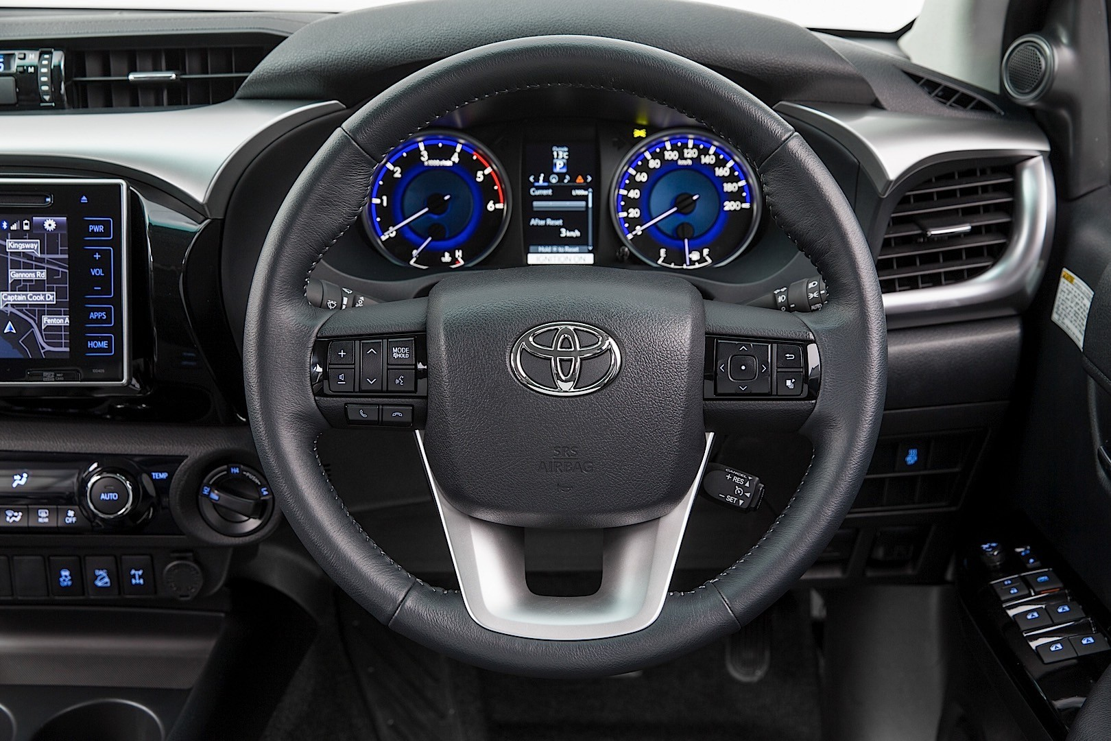 Toyota Hilux Reveals Its New Interior, But Only for Australians - autoevolution