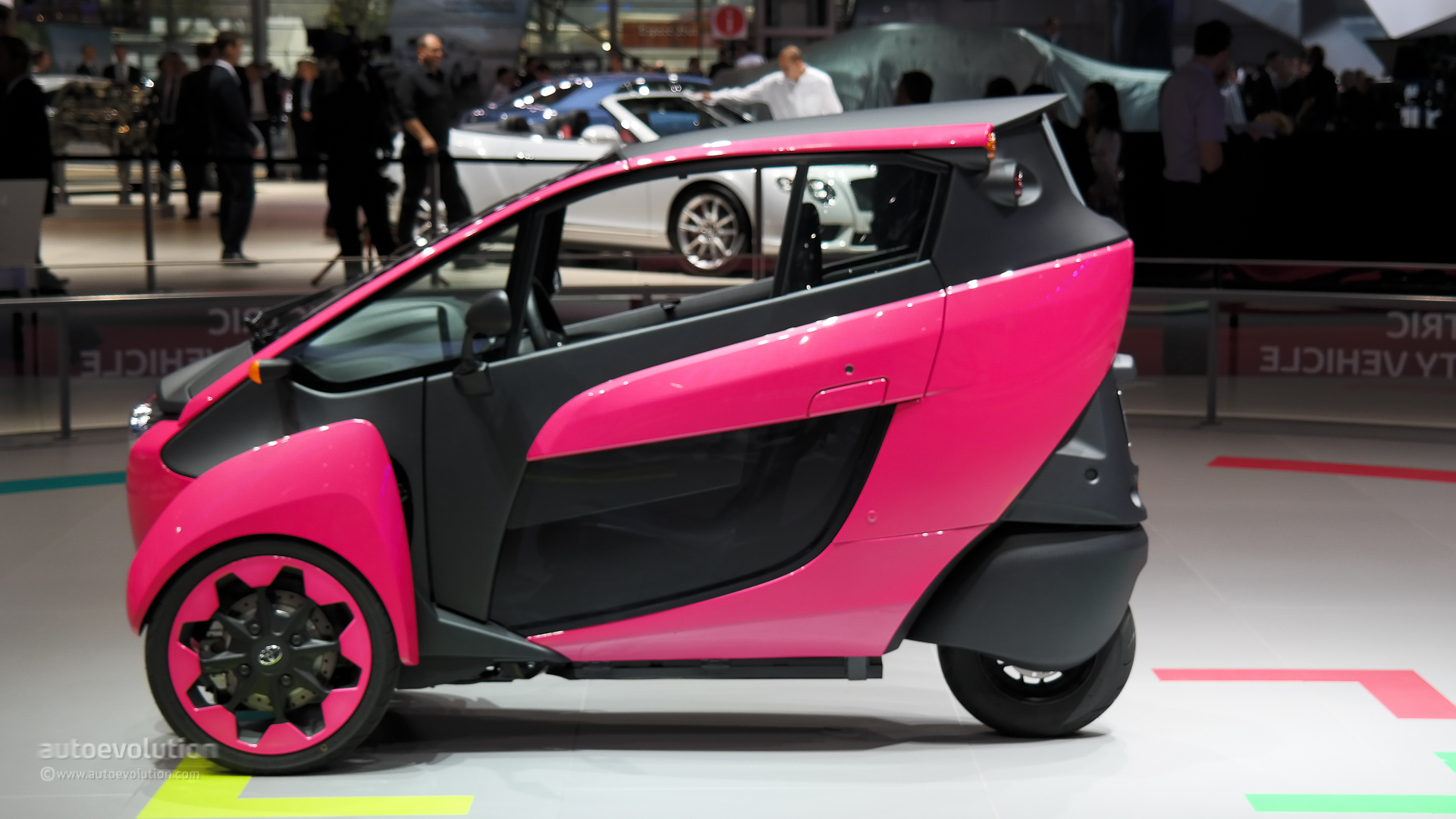 Toyota i-Road Green Mobility Program Starts in French City ...