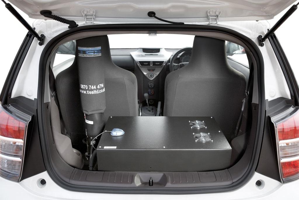 Toyota Iq New Surveillance Car In Uk Autoevolution