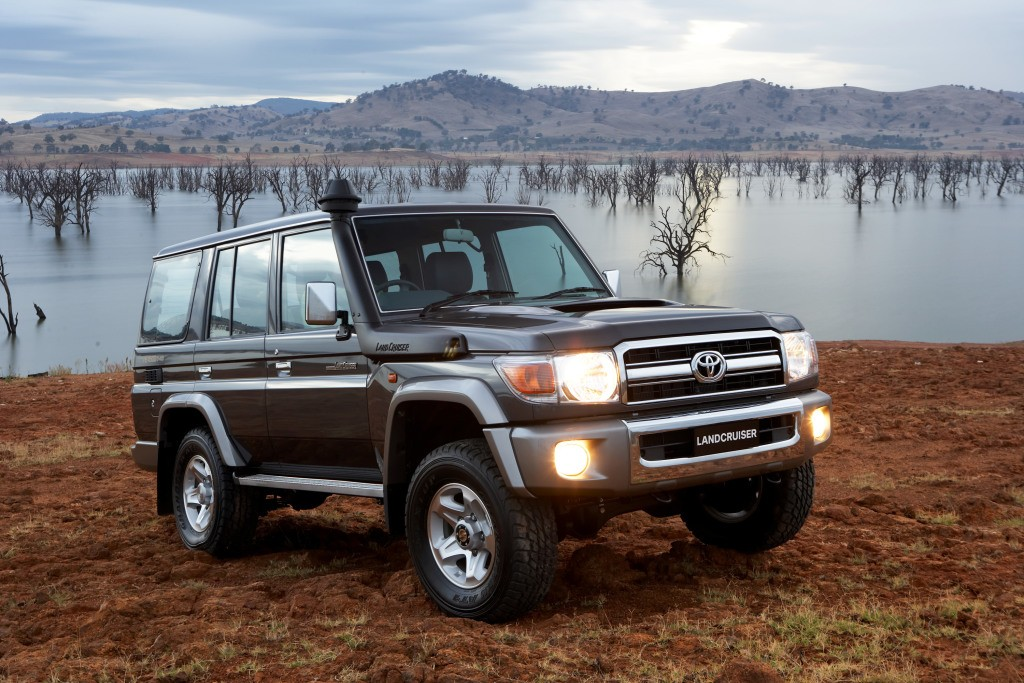 """Toyota Land Cruiser J70 >> Toyota Land Cruiser 70 Series to Soldier On: """"It's Here ..."""