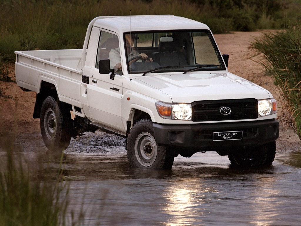 """Toyota Land Cruiser 70 Series to Soldier On: """"It's Here ..."""