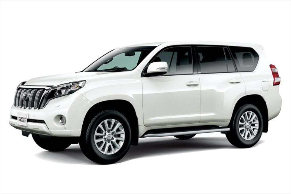 Toyota Land Cruiser Prado Gets 2.8-Liter Diesel Engine ...