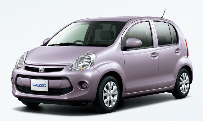 toyota passo gets new face and engine in japan   autoevolution