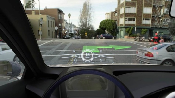 toyota previews new 3d head up display autoevolution. Black Bedroom Furniture Sets. Home Design Ideas