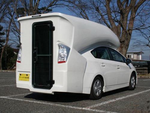 toyota prius camper van autoevolution. Black Bedroom Furniture Sets. Home Design Ideas