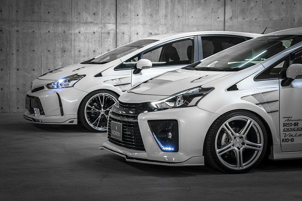Toyota Prius G S Tuned By Rowen Looks And Sounds
