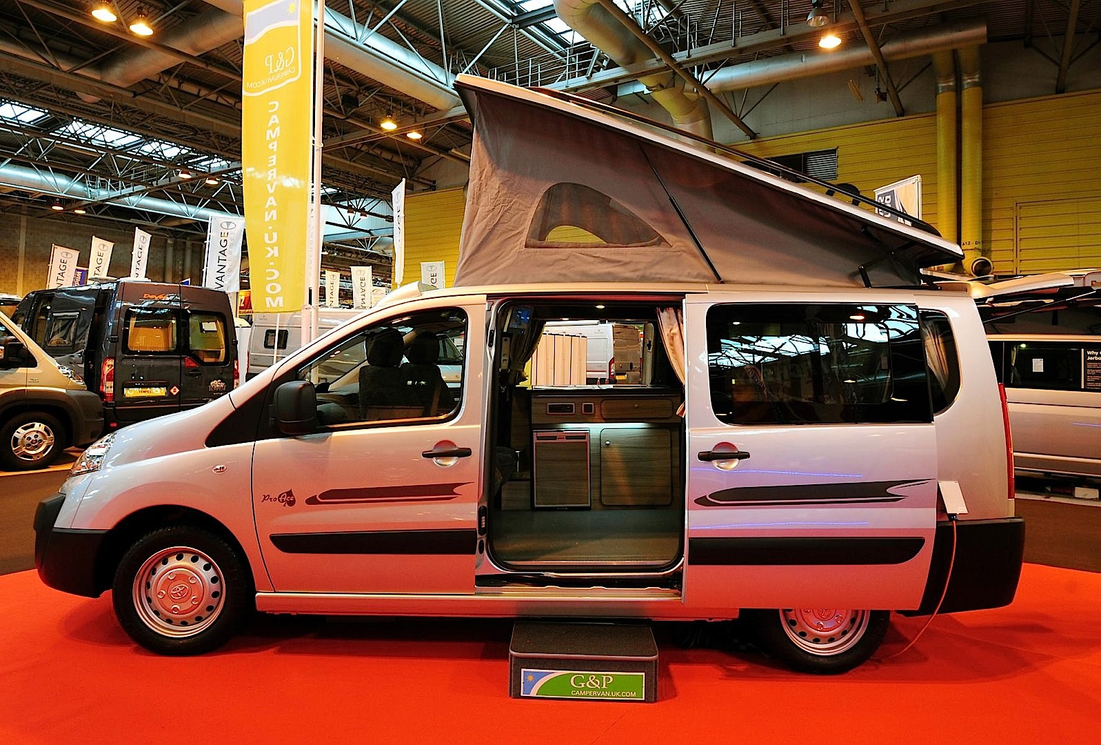 Ford Focus Camper >> Toyota Proace Turns Into Campervan in the UK - autoevolution
